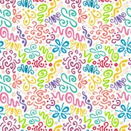 abstract floral pattern N12