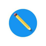 Vector Pencil Icon N2