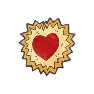 heart symbol cartoon N6