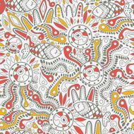 Ethnic seamless pattern N13
