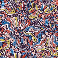 Ethnic seamless pattern N14
