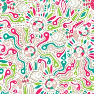 Ethnic seamless pattern N18