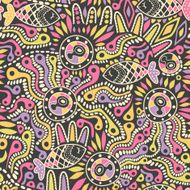 Ethnic seamless pattern N19
