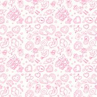 Seamless wedding patterns N9