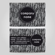 vector business card N5