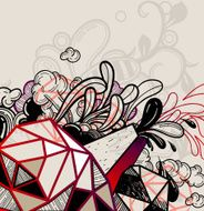 Abstract Vector Illustration N5