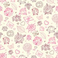 Seamless wedding patterns N12