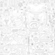 Japanese Seamless Pattern N4
