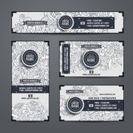 Corporate Identity vector set with photo theme N2