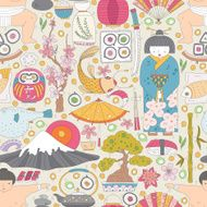 Japanese Seamless Pattern N6