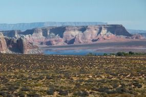 lake powell rocks landscape arizona