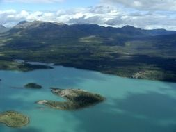 landscape of the yukon territory