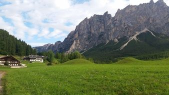 south tyrol summer mountains