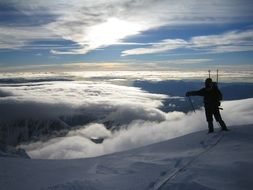 mountain mont blanc summit france