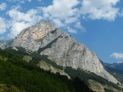 View of Maritime Alps