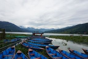 boat parking in pokhara