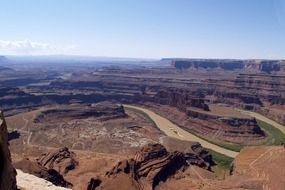 Landscape of Dead Horse Point in Colorado