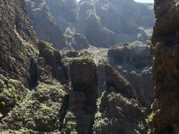 Mask Gorge in the Canary Islands
