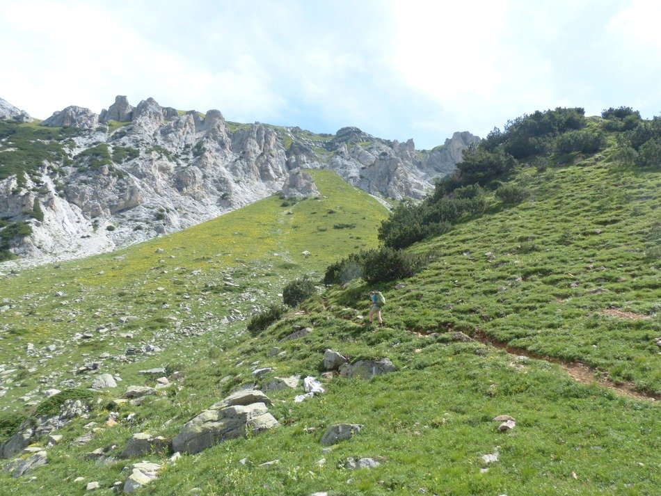 Hiking on Maritime Alps