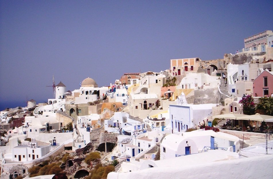 Santorini Island in Greece - the most beautiful island in the world