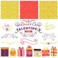 Valentine's Day and Wedding graphic set N2