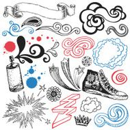 Doodle Design Elements N9