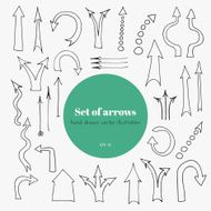 Set of arrows N19