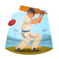 Batsman Cricket player