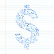 Business Dollar Doddle