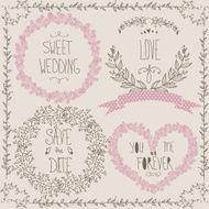 Wedding graphic set N12