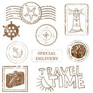 Sea Travel Stamps N2