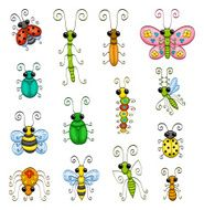 Cartoon Insects N4