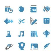 Education Icons - Conc Series