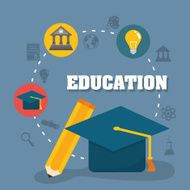 Education and elearning icons N11
