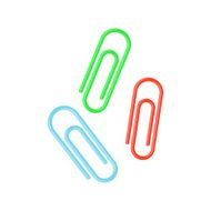 Colorful Paper Clips N3