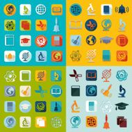 Set of education icons N11