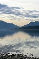 tranquil alpine foothills, germany, chiemgau-chiemsee