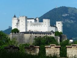 middle ages hohensalzburg fortress