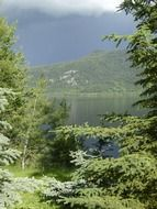 thunderstorm weather canim lake N4