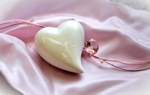 heart pink decoration