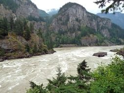 fraser river in British Columbia Canada