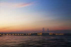 extraordinarily beautiful surabaya bridge