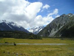new zealand mountain mount cook