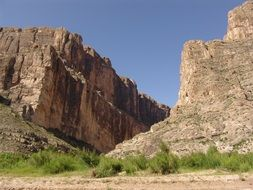 Scenic cliff in Big Bend National Park, Texas, USA