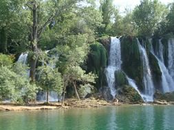 waterfall Centina river