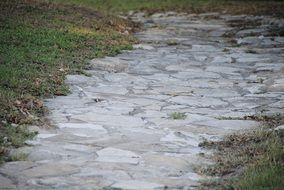 stone path for walking