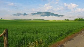 Germany landscape countryside