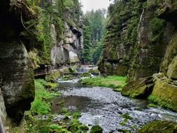Landscape of Bohemian Switzerland