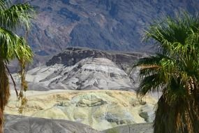 Death Valley in California is a tourist attraction