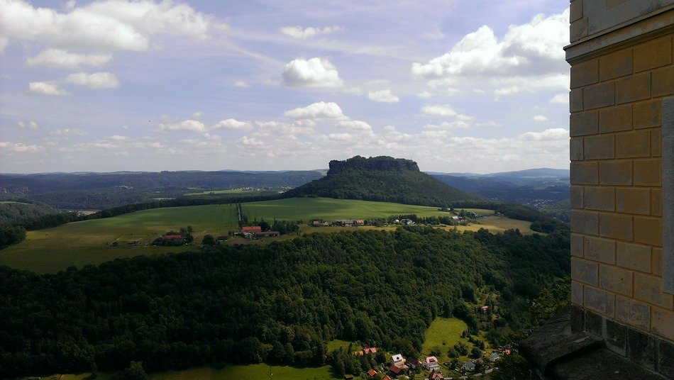 panoramic views of the Lilienstein